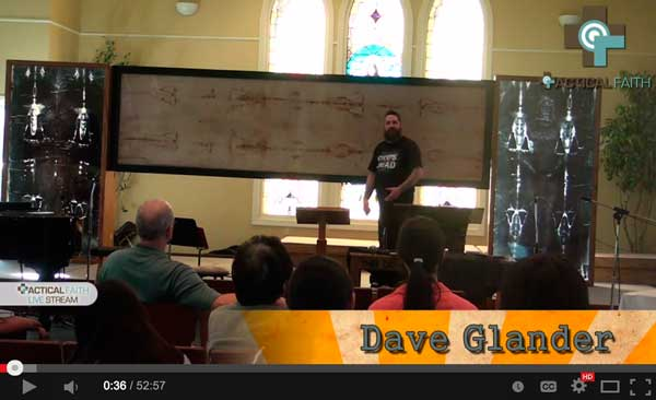 The Shroud of Turin with Dave Glander