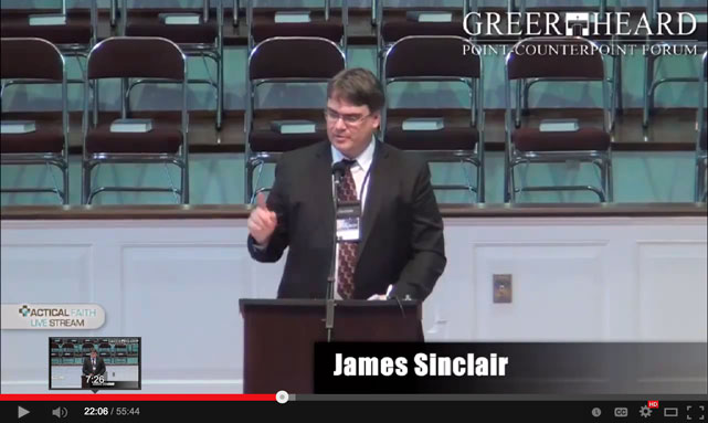 James Sinclair at Greer Heard
